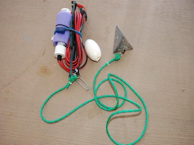 Shrimp light sinker full accessory kit for shrimp fishing for Homemade fishing light